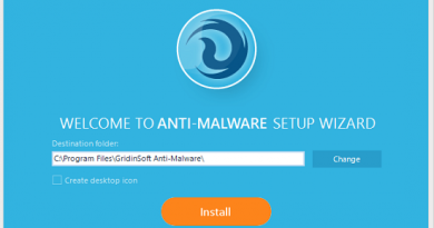 GridinSoft Anti-Malware - Αντιμετώπιση ιών Shareware