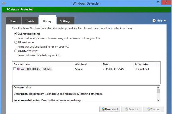 Προστασία υπολογιστή δωρεάν με το Windows Defender